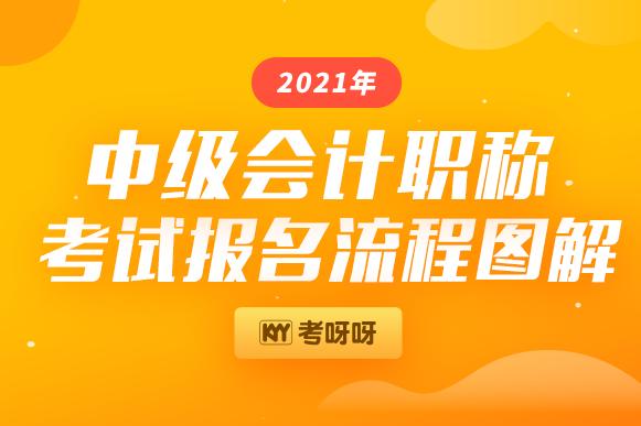 2021年中级会计职称考试报名入口已开通,附流程图解